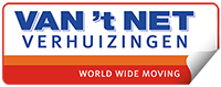 Van 't Net verhuizingen Logo